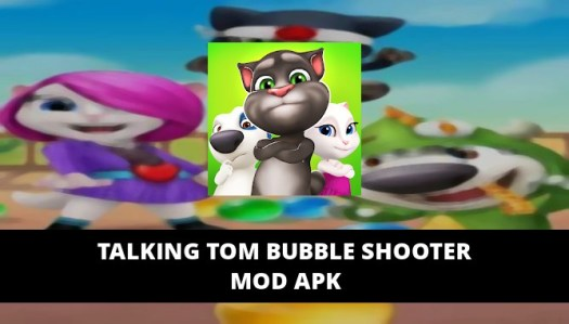 Talking Tom Bubble Shooter Featured Cover