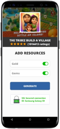 The Tribez Build A Village MOD APK Unlimited Gold Gems