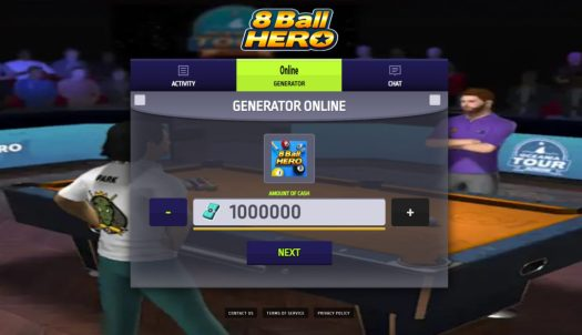8 Ball Hero APK Mod Hack For Cash
