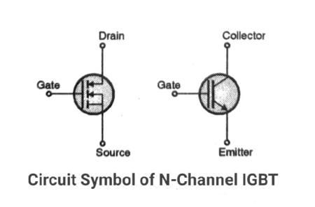 Symbol of IGBT