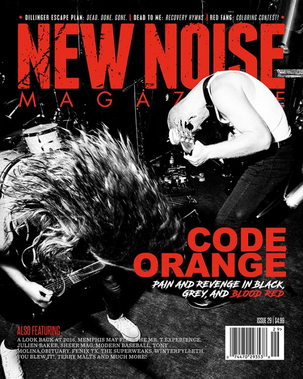 Issue 29 Code Orange cover small