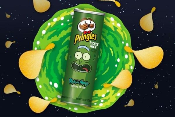 https   hk.hypebeast.com files 2019 12 rick and morty pringles pickle rick flavor info 1