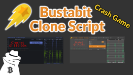 BustaBit.com Crash Game 2021 [Clone Script]