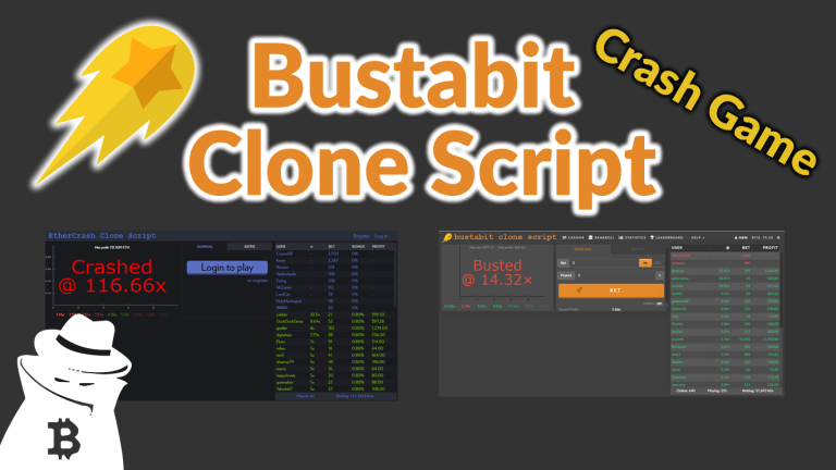 BustaBit.com Clone Script Crash Game 2021