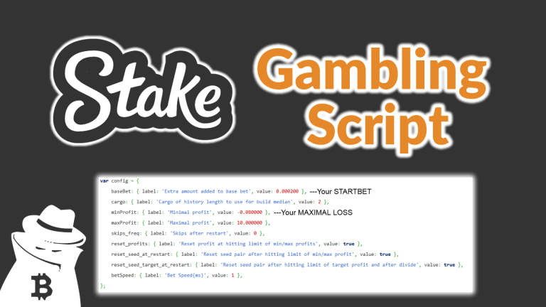 Stake.com New Gambling Script 2021