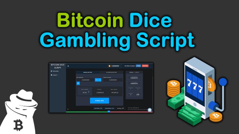 ✅Bitcoin Dice Gambling 🚀 Script 2021