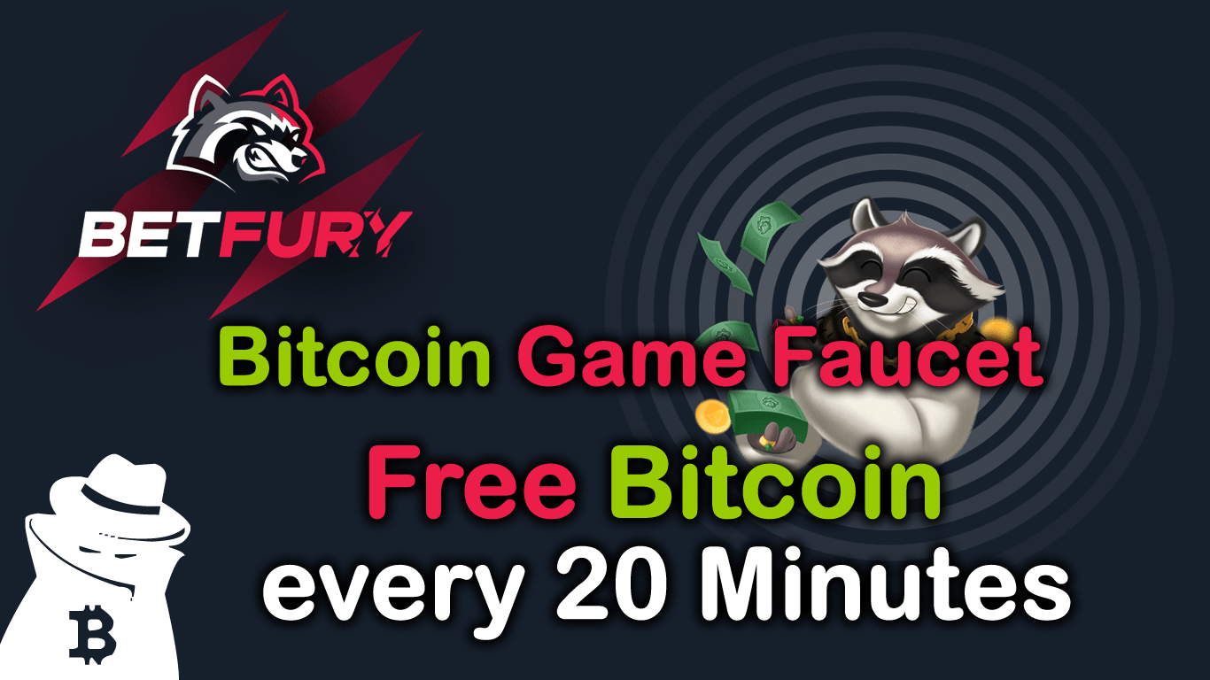 Betfury.io NEW Bitcoin Game Faucet with Bitcoin Daily Payouts