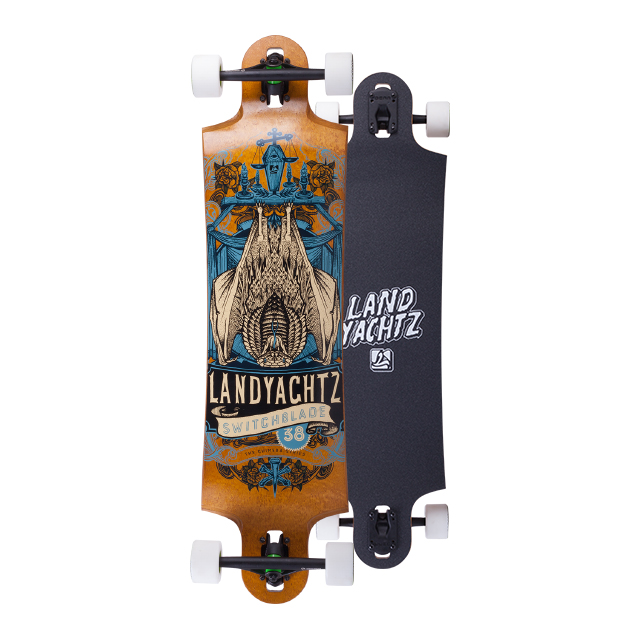 landyachtz switchblade maple chimera series