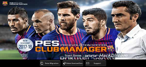 PES Club Manager Hack 1.6.0 (MOD,Unlimited Money) Apk+Data