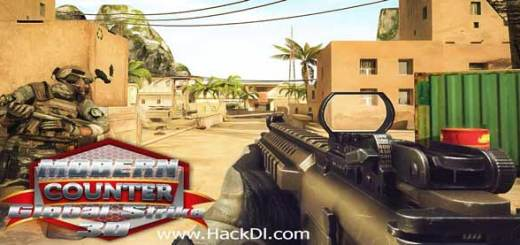 Modern Counter Global Strike 3D mod Unlimited Money Apk