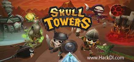 Skull Towers - Castle Defense Mod Apk