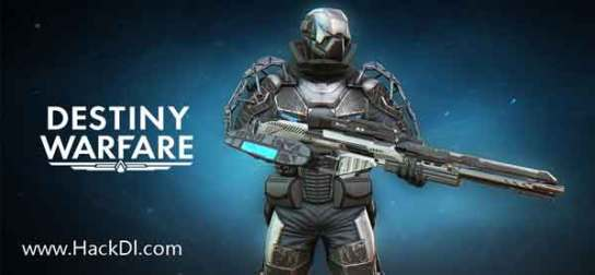Destiny Warfare: Sci-Fi FPS MOD Unlimited Money apk
