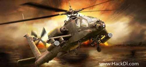 Gunship Battle: Helicopter 3D Mod apk