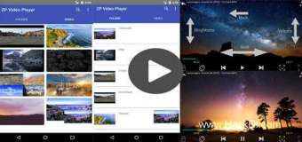 ZP Video Player Pro Apk Full V1.09 (Paid) Download
