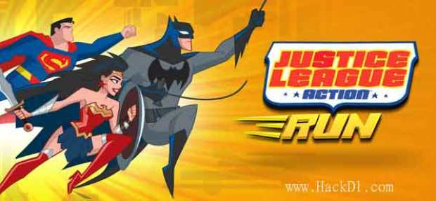 Justice League Action Run MOD Unlimited Money apk