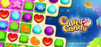 Crafty Candy – Match 3 Adventure Mod Apk 2.14.0 (Hack,Unlimited Coins)
