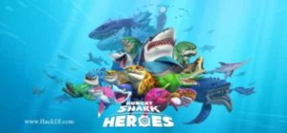 Hungry Shark Heroes MOD Unlimited Money apk