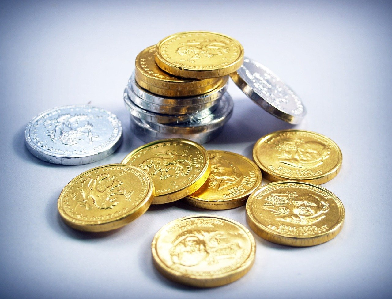 coin, gold, cash