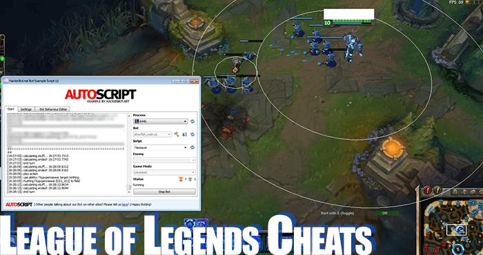 league of legends cheat program