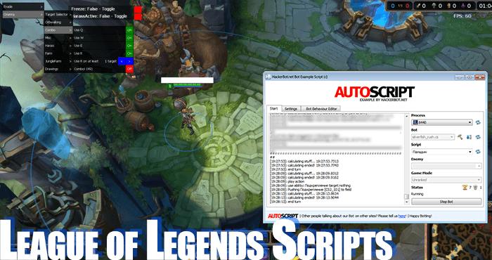 league of legends scripts