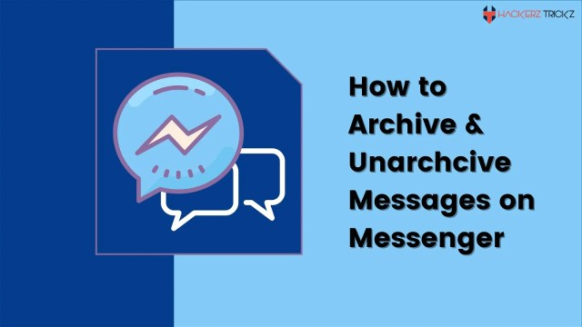How to Archive & Unarchive Messages on Messenger