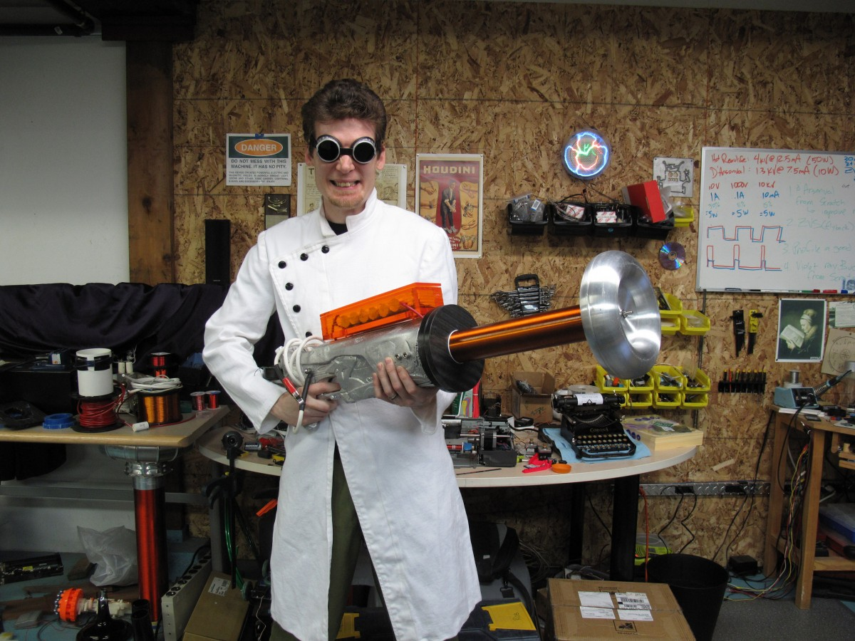 The Tesla Gun – The best Science is Mad Science