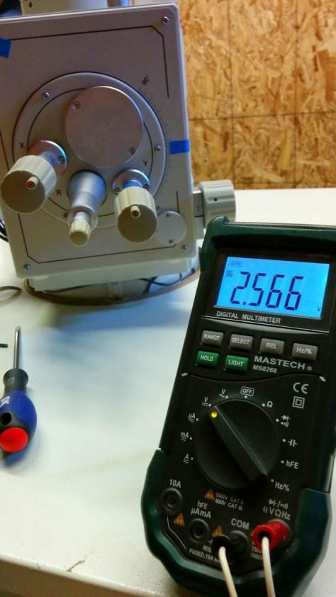 2.566 Volts! Even better than 1.21 Gigawatts!