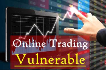 Online Trading Vulnerable