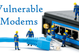 Vulnerable Modems