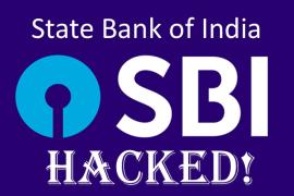SBI Hacked