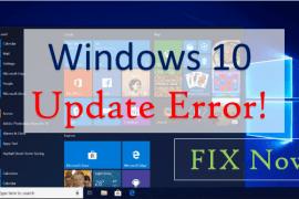 Windows 10 Update Error Fix