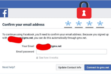 Facebook Email Password