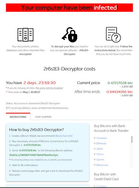 Sodinokibi Ransomware Encrypt