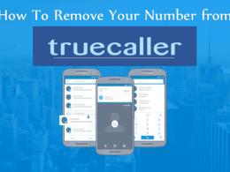 Truecaller Phone Number Remove