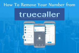 Truecaller Phone Number Remove