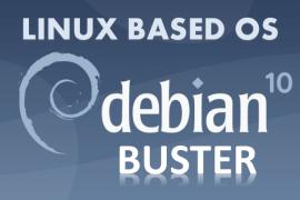Linux Based OS Debian Buster