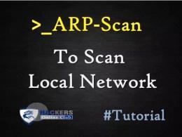 ARP-Scan-Command