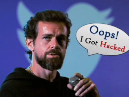 Jack Dorsey Twitter Hacked