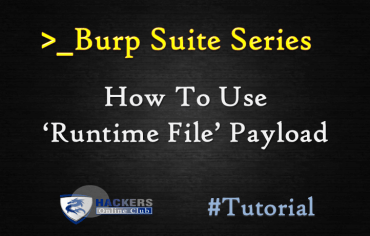 Burp Suite- RunTime File Payload