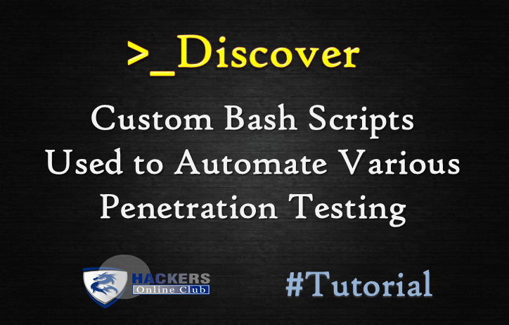 Discover - Automate Penetration Testing