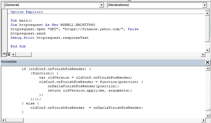 Multi-session / asynchronous web request with VBA and ...
