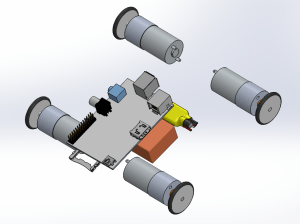 second concept - small wheels configuration
