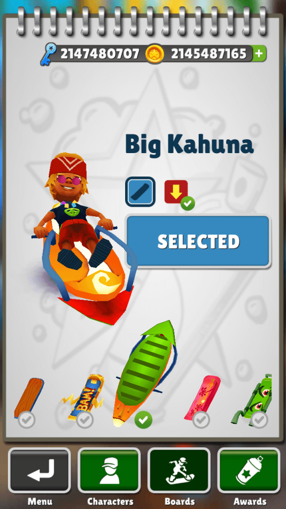 ScreenShot of Subway Surfers Bangkok Mod Apk