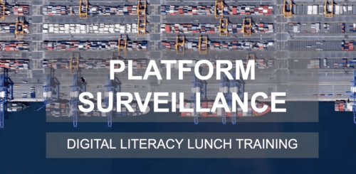 Platform Surveillance Digital Literacy Training
