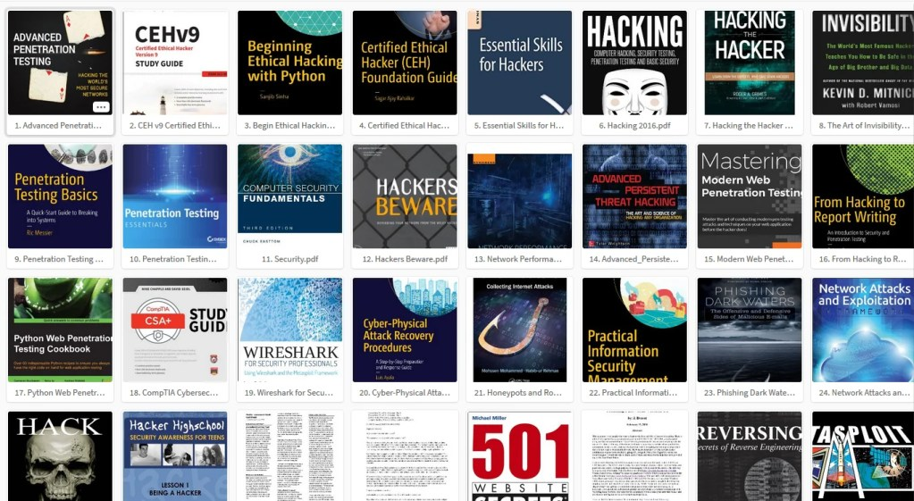 Top 100 Free Hacking Books PDF Collection - HackingVision