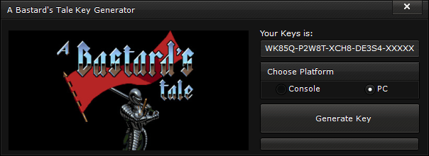 a bastards tale key generator free activation code 2015 A Bastard's Tale Key Generator – FREE Activation Code 2015