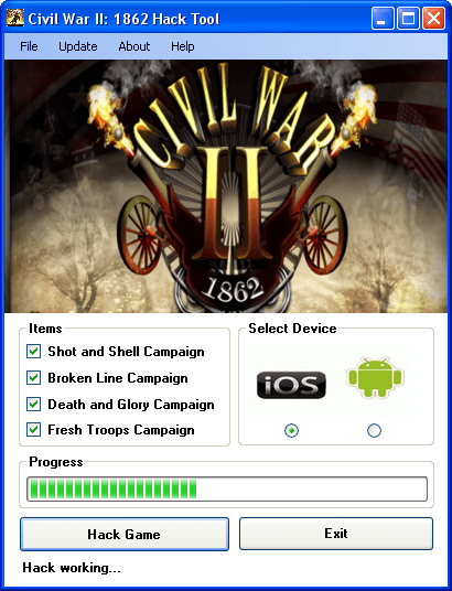 civil war ii 1862 hack tool download Civil War II: 1862 Hack Tool Download