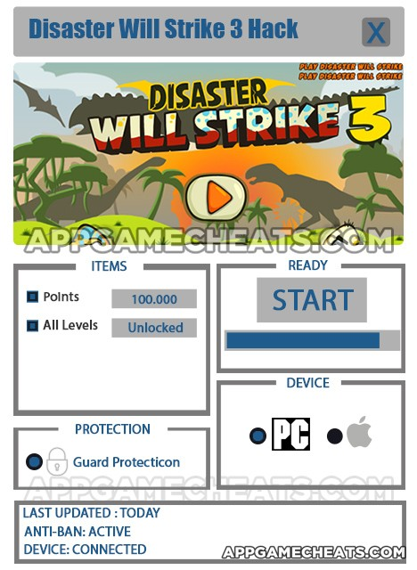 disaster-will-strike-three-cheats-hack-points-all-levels