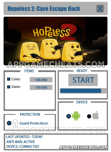 hopeless-two-cave-escape-cheats-hack-coins-gems
