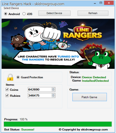 Line Rangers Hack - Android iOS Cheats